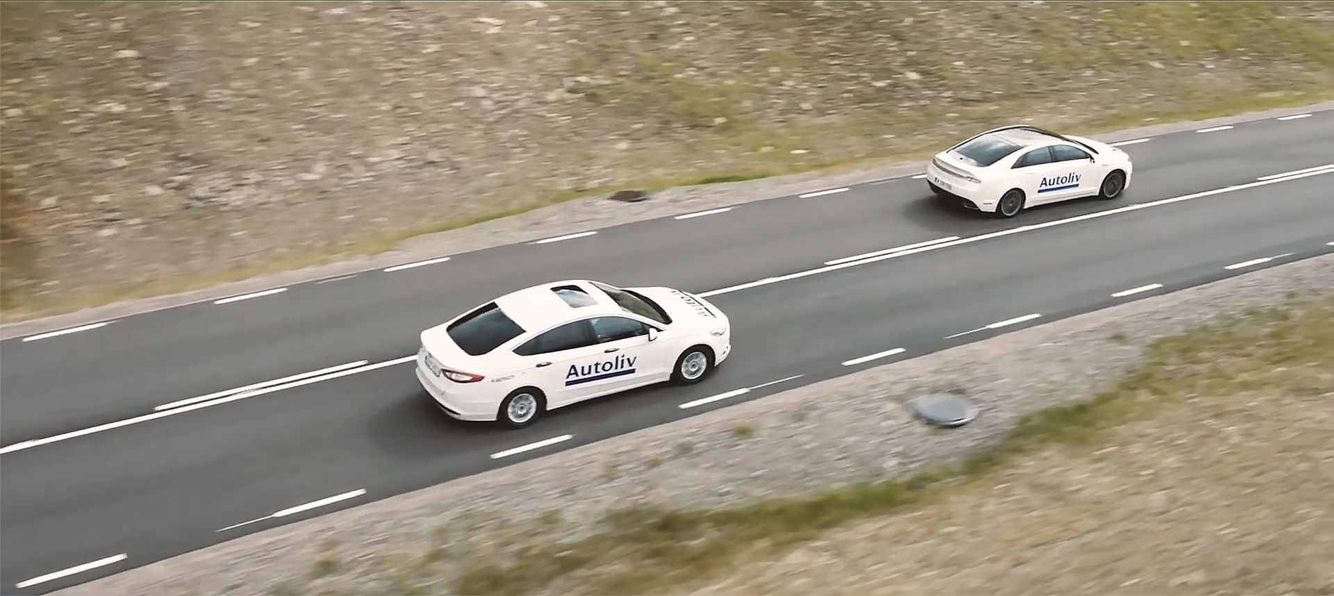 Autoliv_Test Cars_driving