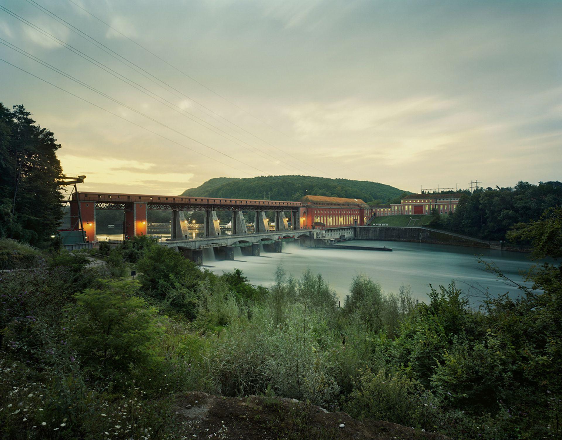 Kraftwerk Eglisau / Schweiz / August 2007
